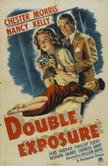 Double Exposure 1944 DVD - Chester Morris / Nancy Kelly